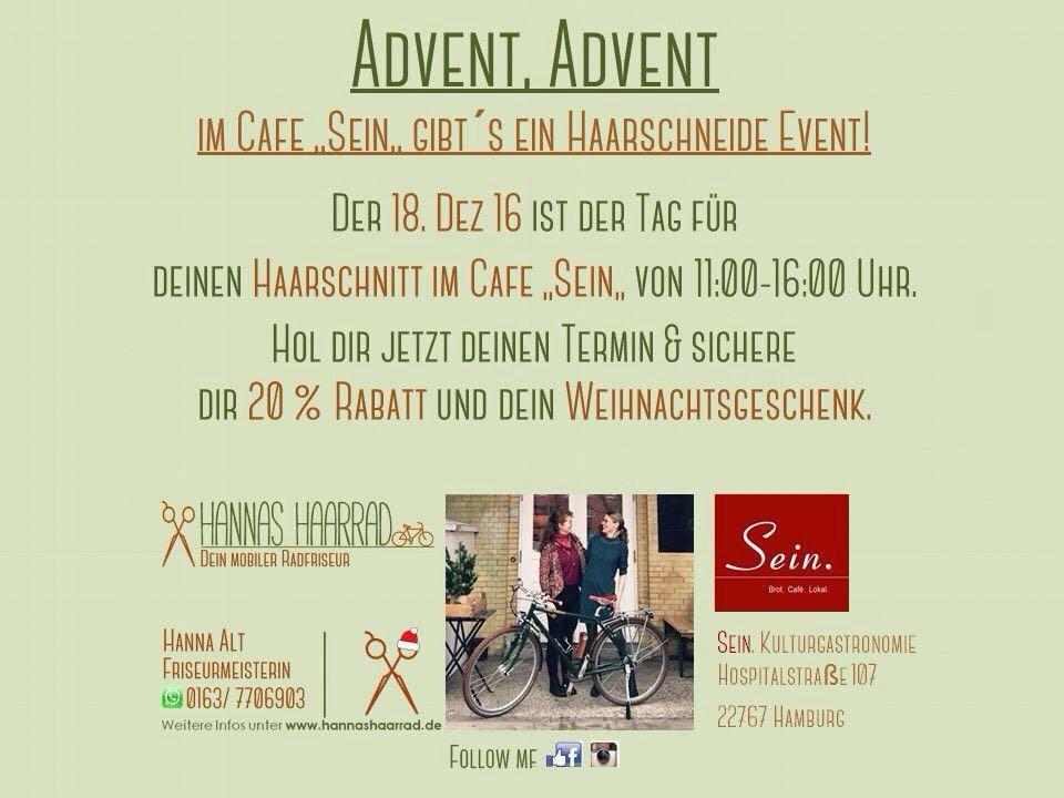 """Advent Advent - ein Lichtlein """"Sein"""".  Der 4. Advent wurde mit einem kleinen Event im Café """"Sein"""" zelebriert. Danke an alle die da waren, es war ein wunderschöner Nachmittag."""