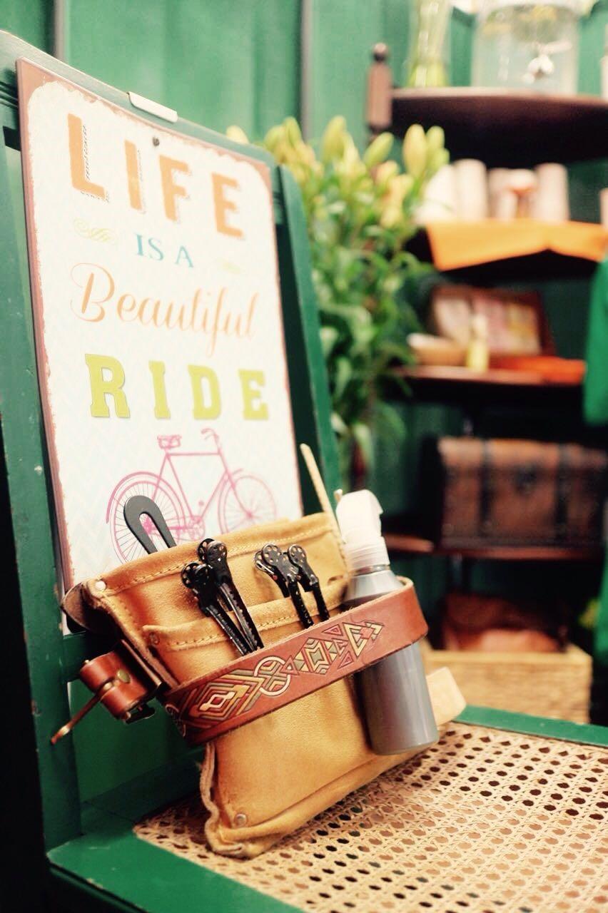 Life is a beautiful ride! Deswegen liebe ich meine Leidenschaft.
