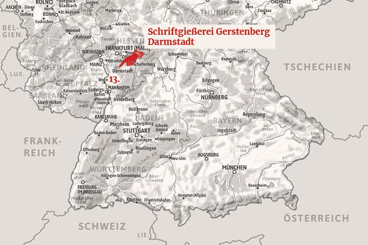 Meine 13. Station ist Darmstadt