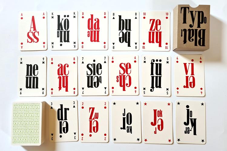 Das TypoSkat als TypoBlatt in 3. Auflage
