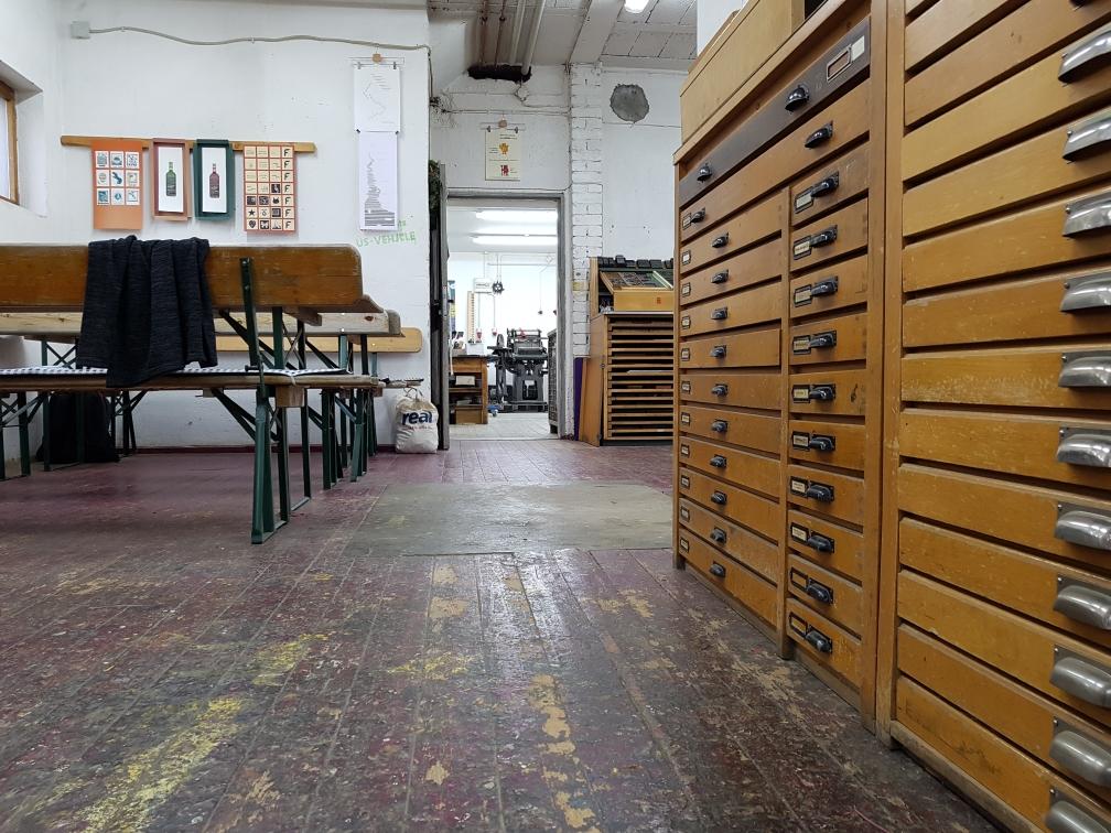 Wie wäre es, eine eigene Druckwerkstatt zu haben?