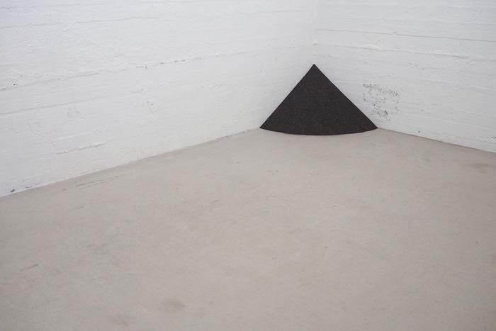 Anno Weihs, Iceland, Island, Landscaping, Hvitahus, art, installation, kunst, black, sand, lava