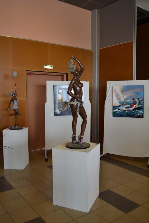 Quelques peintures et sculptures de Krystoff