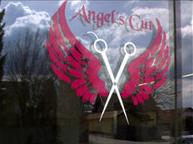Eingang Friseur Angel's Cut