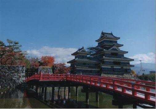 とらさん  松本城