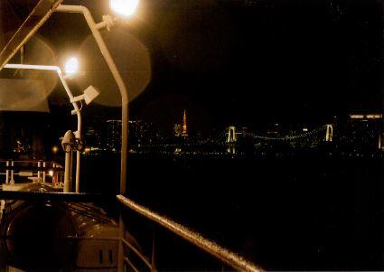 一慧  東京湾から