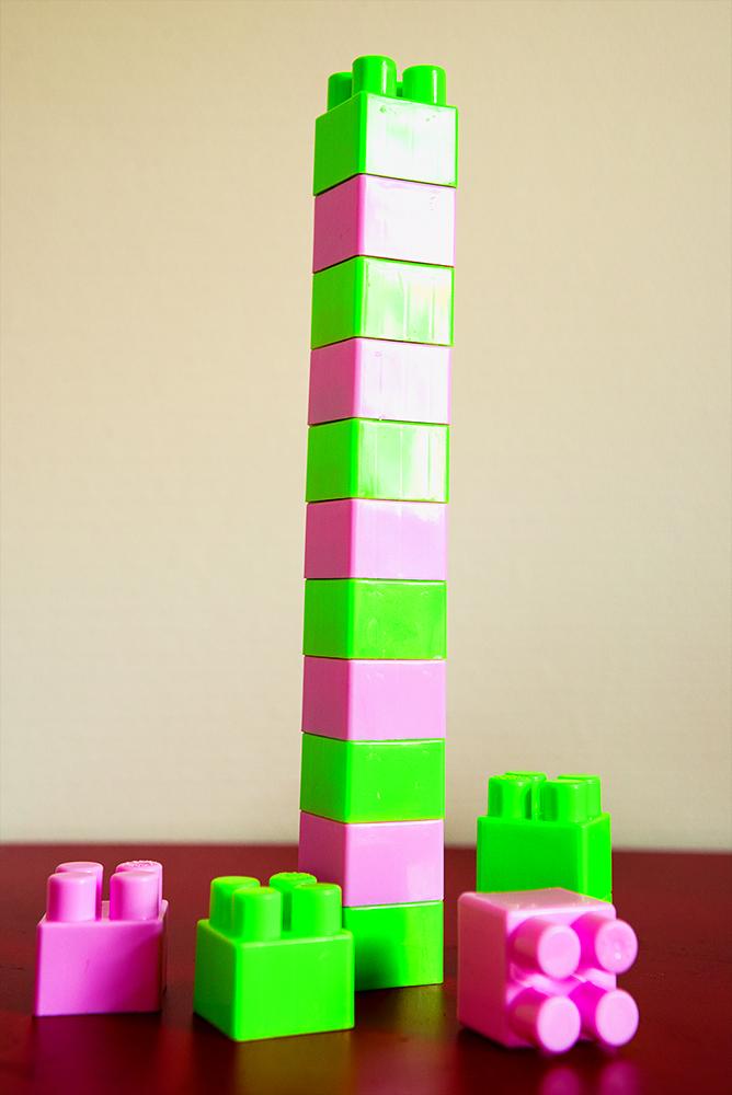 La vie est comme un jeu de Lego