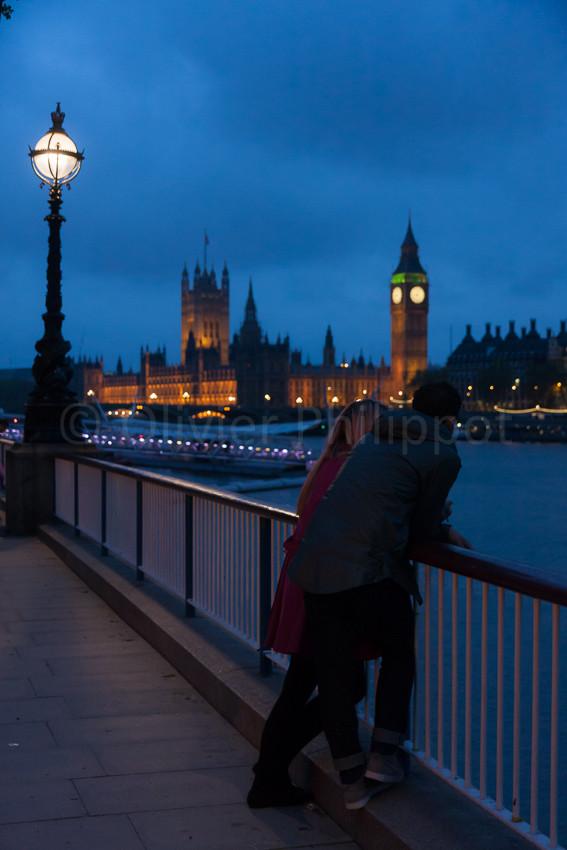 Londres - Vue sur le Parlement