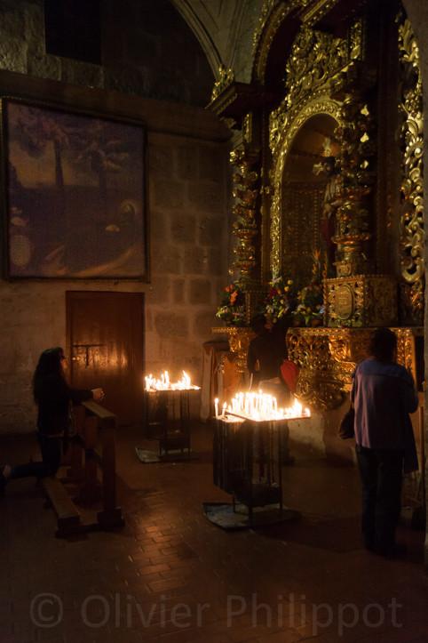 Pérou - Arequipa - Eglise jésuite
