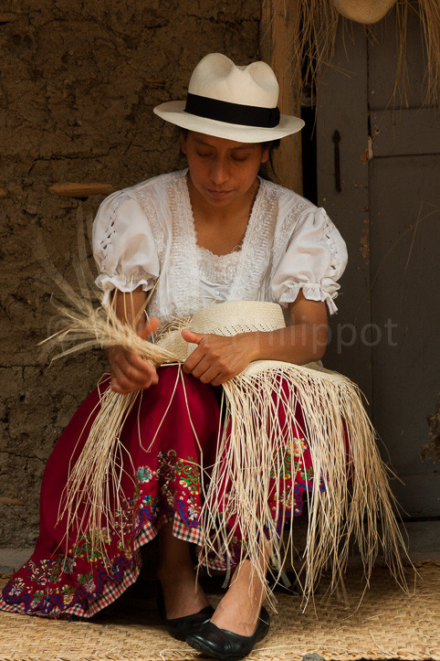 Equateur - Cuenca - Fabrique de Panama
