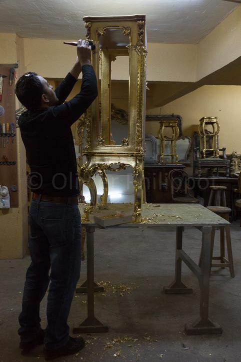 Istanbul - Restauration de meubles