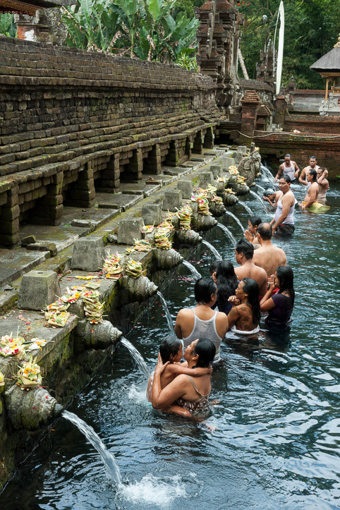 Indonésie - La source de Tirta Empul