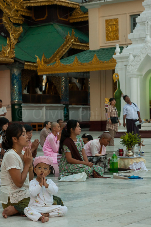 Birmanie - Rangoon - Shwedagon