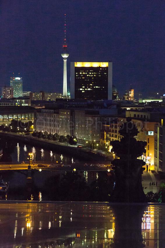 Berlin - Vue du Reichstag