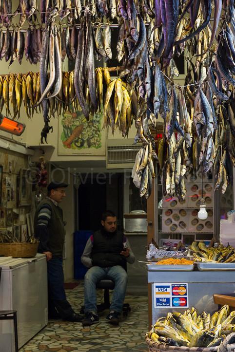 Istanbul - Marché aux poissons