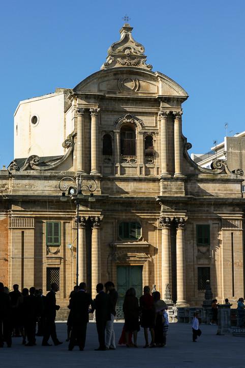 Sicile - Raguse - Place San Giovanni