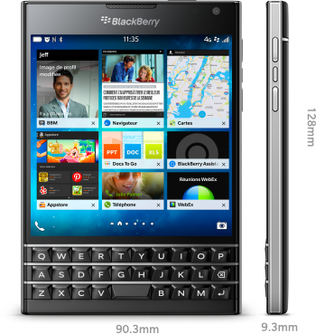 Blackberry passport en France, avis et essais