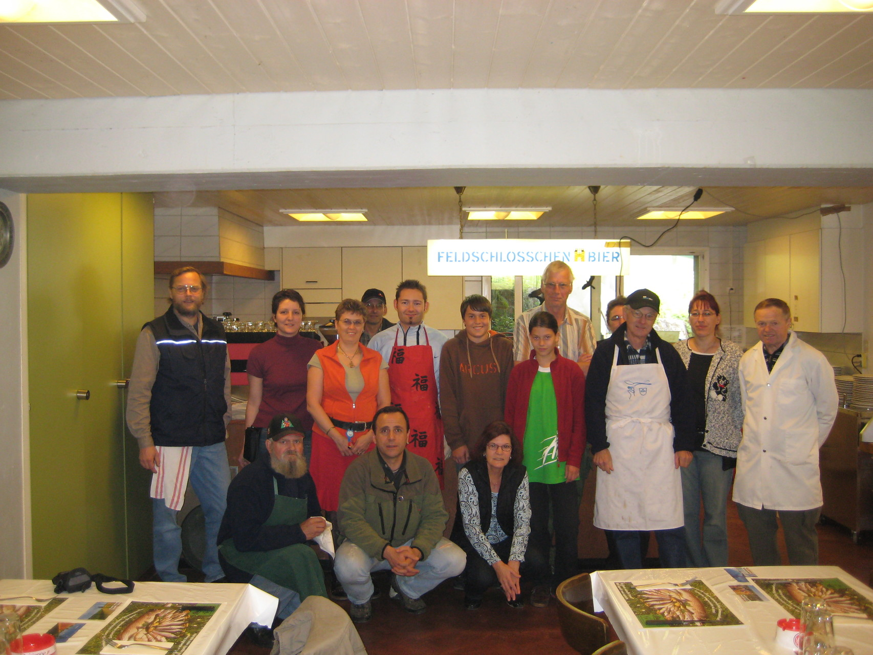 Küchenmanschaft Rekingen 2013