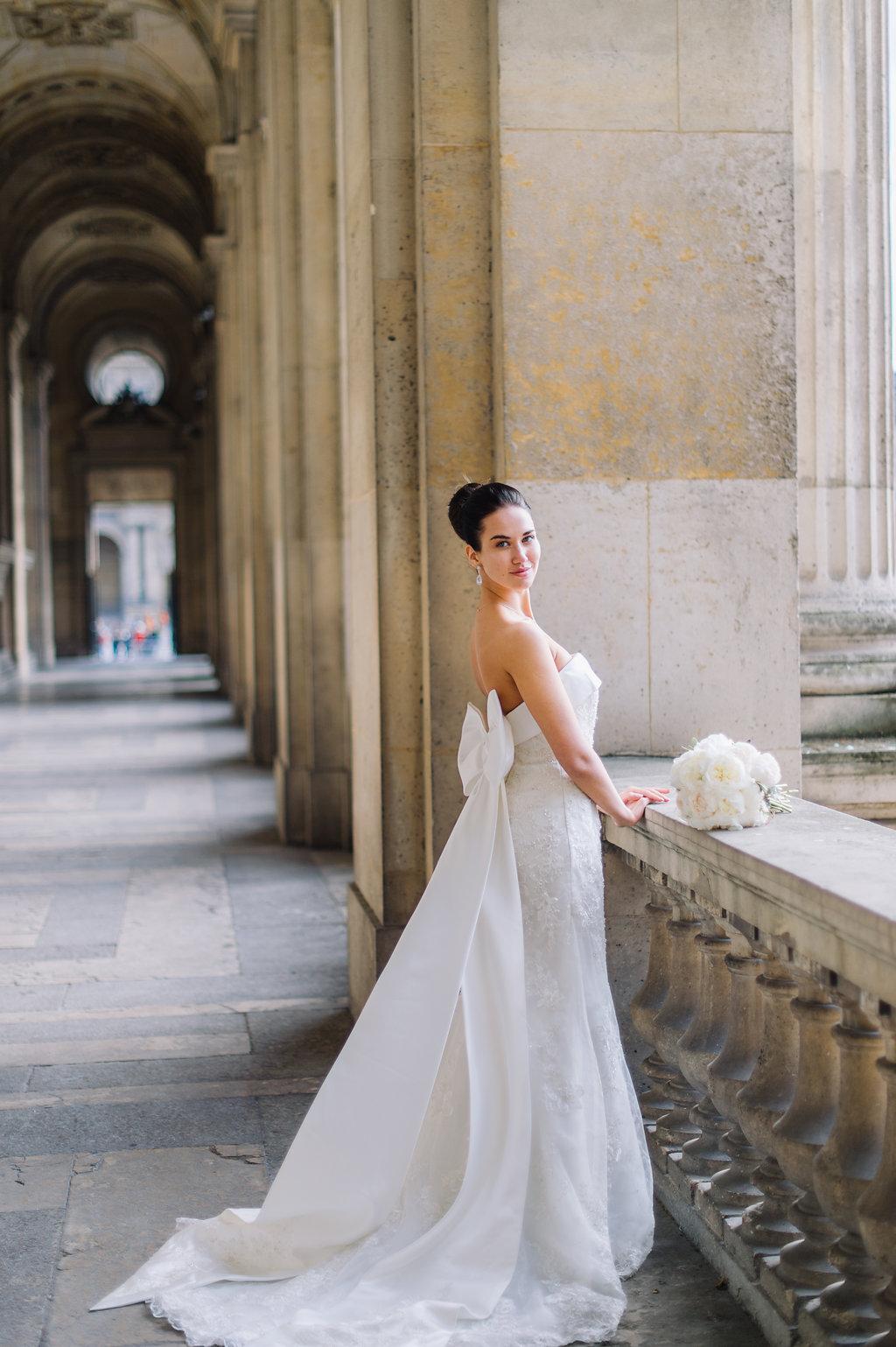 Свадебная церемония для двоих в Париже