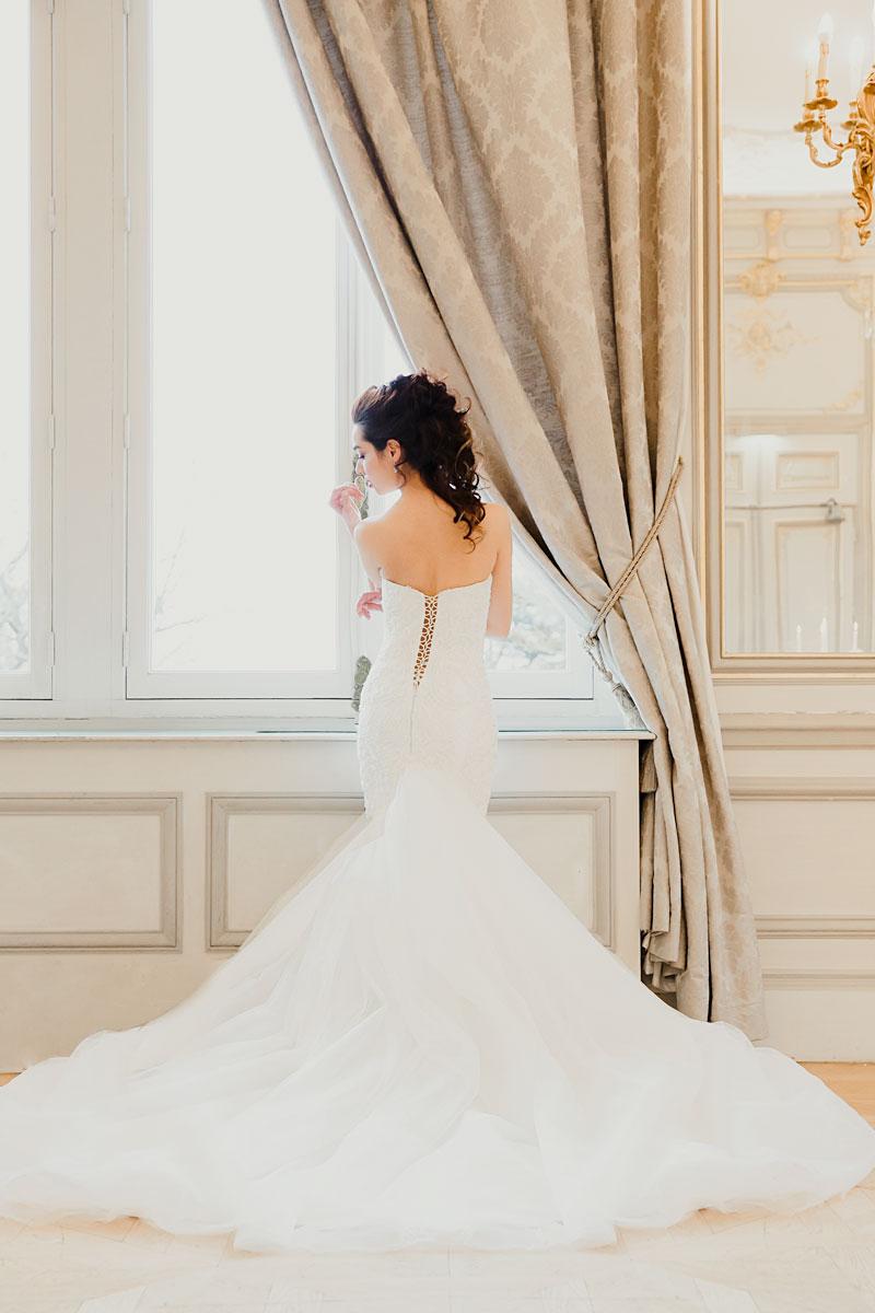 свадебное платье французский дизайнер