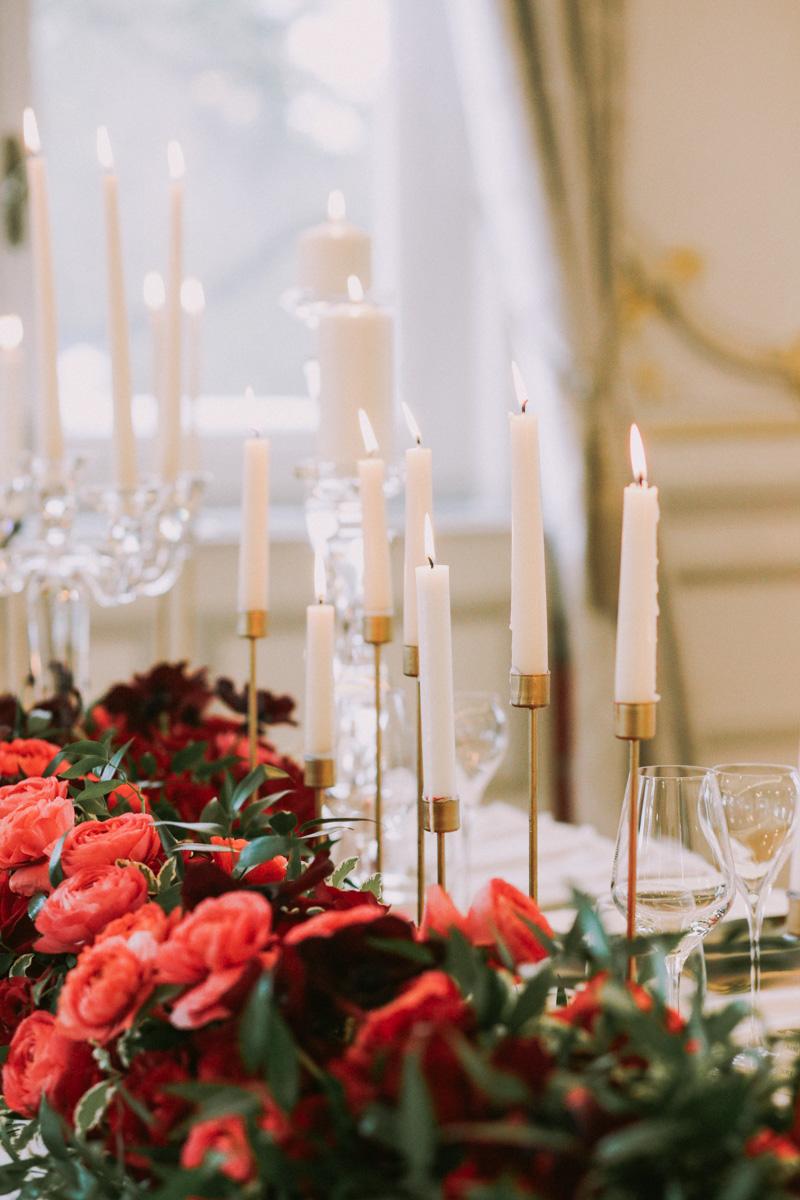 свадьба в париже декор