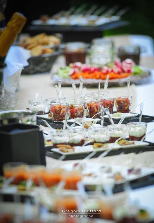французская свадьба - свадебный коктейль