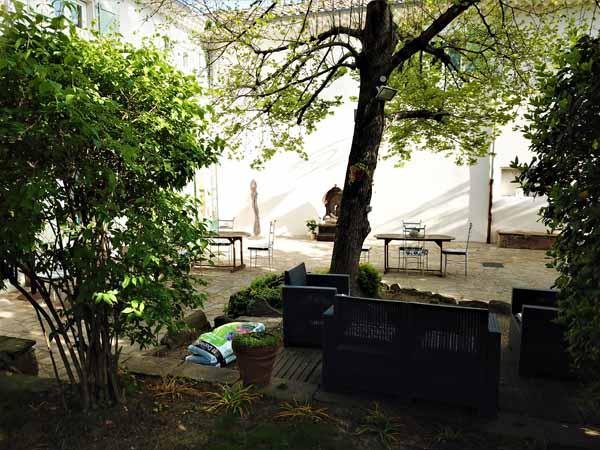 Extérieur Maison Bersane  location curiste