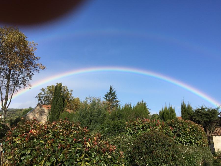 L'arc en ciel du jour