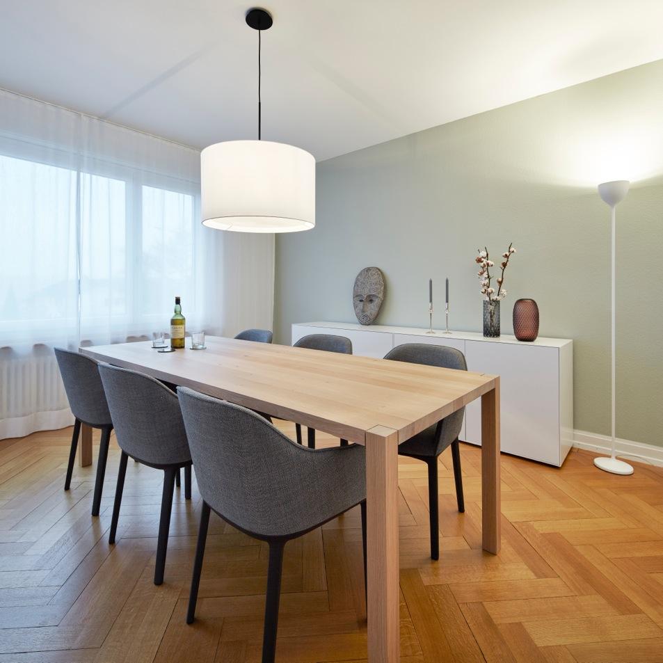 4-Room Apartment Küsnacht Dining