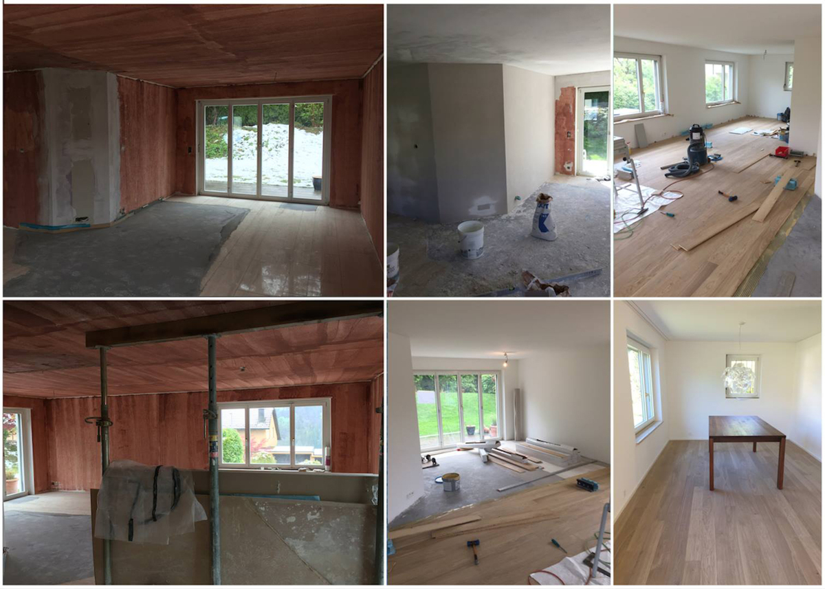 Renovation House Thalwil