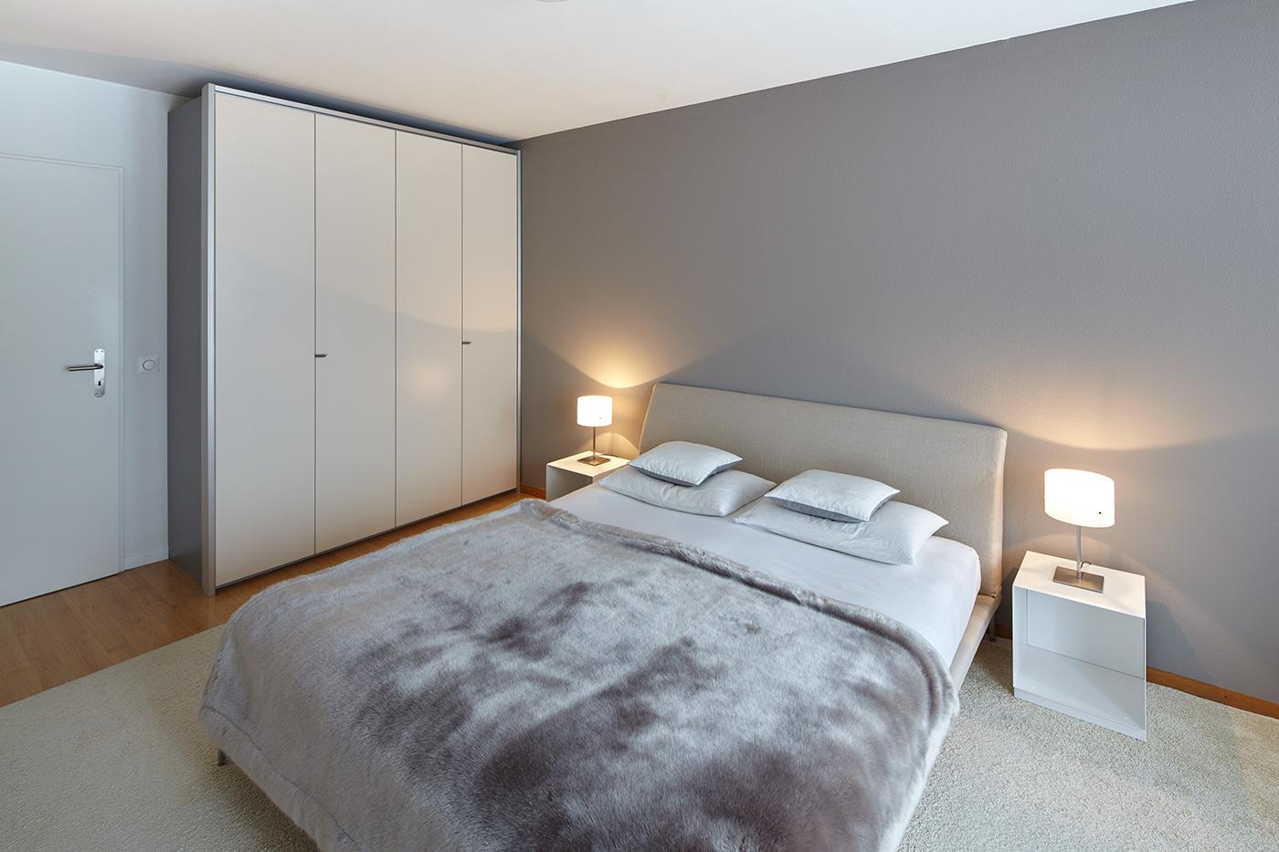 Bedroom 5,5-Room Apartment Höngg