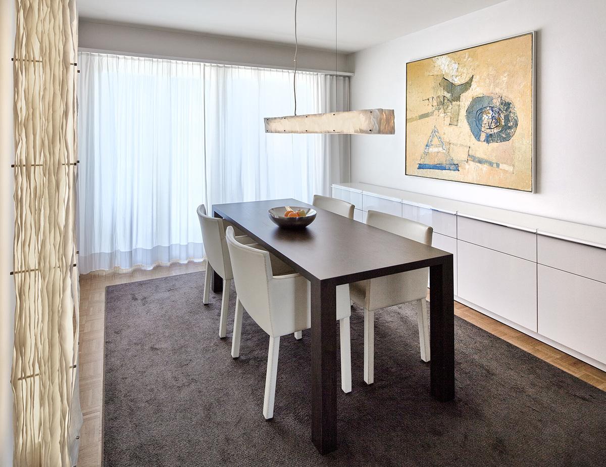5,5-Zimmer Wohnung Zürich Höngg Dining