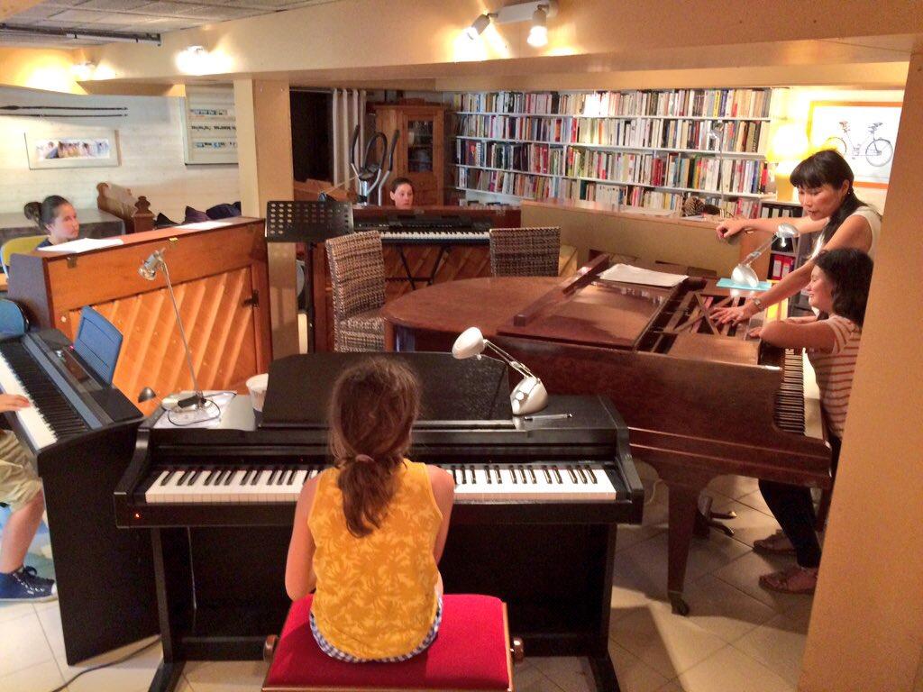 Orchestre de pianos pour enfants