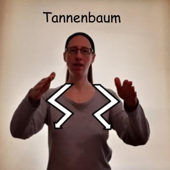 """""""O Tannenbaum"""" mit Kindergebärden"""