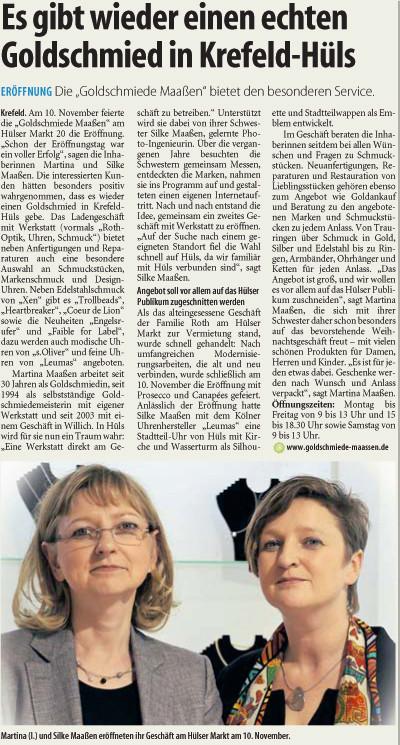 WZ- Kundenforum Niederrhein 27.11.2012