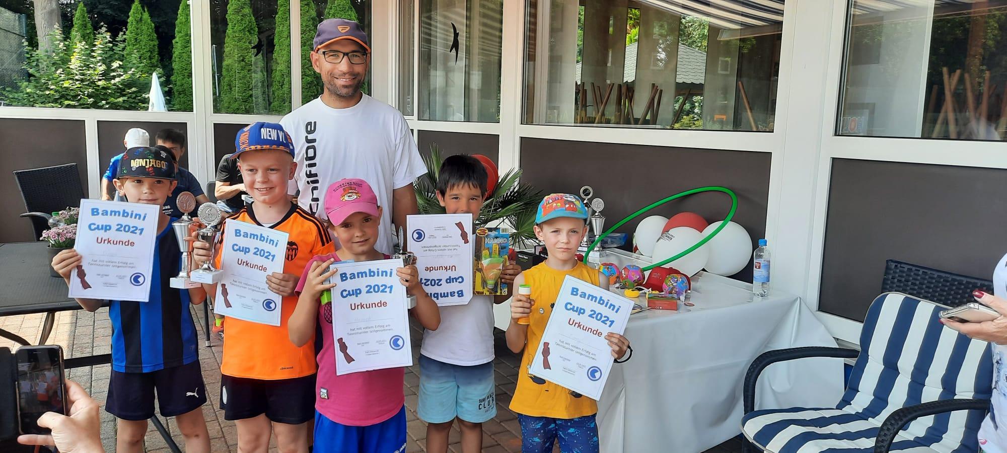 Tenniscamp mit Bambiniturnier und Juniorcup