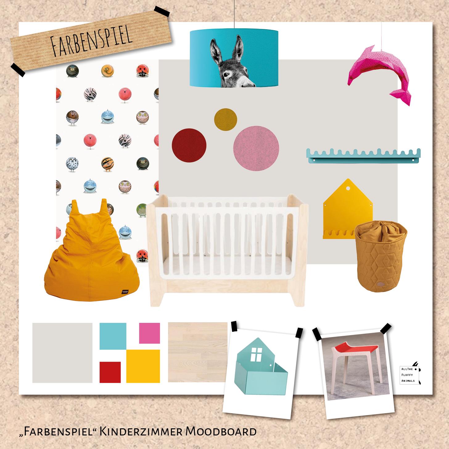 """Kinderzimmer """"Farbenspiel"""" - Ratgeber für bunte Kinderzimmer"""
