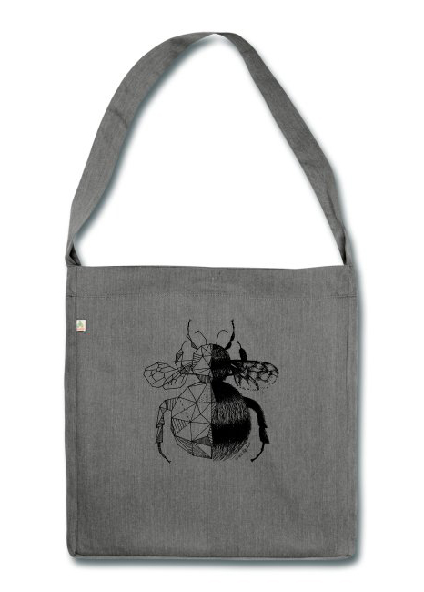 All The Fluffy Animals - Recycling Tasche Hummel