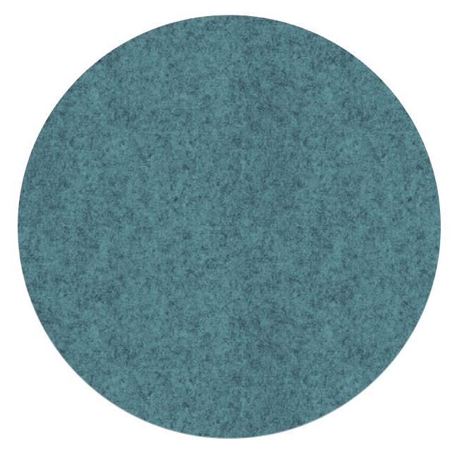 Filz-Pinnwand Dot Hellblau-Pazifik meliert