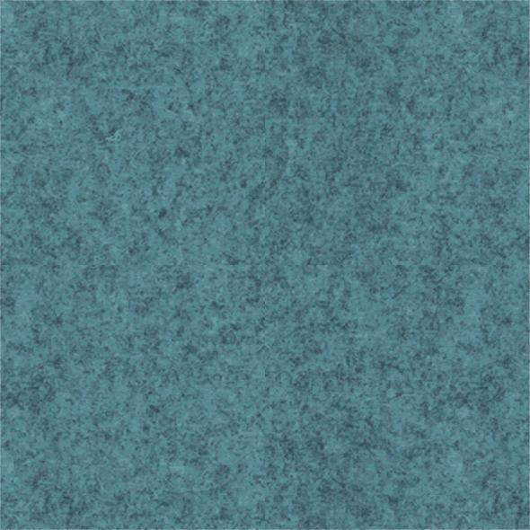 Filz-Paneel in hellblau-Pazifik meliert