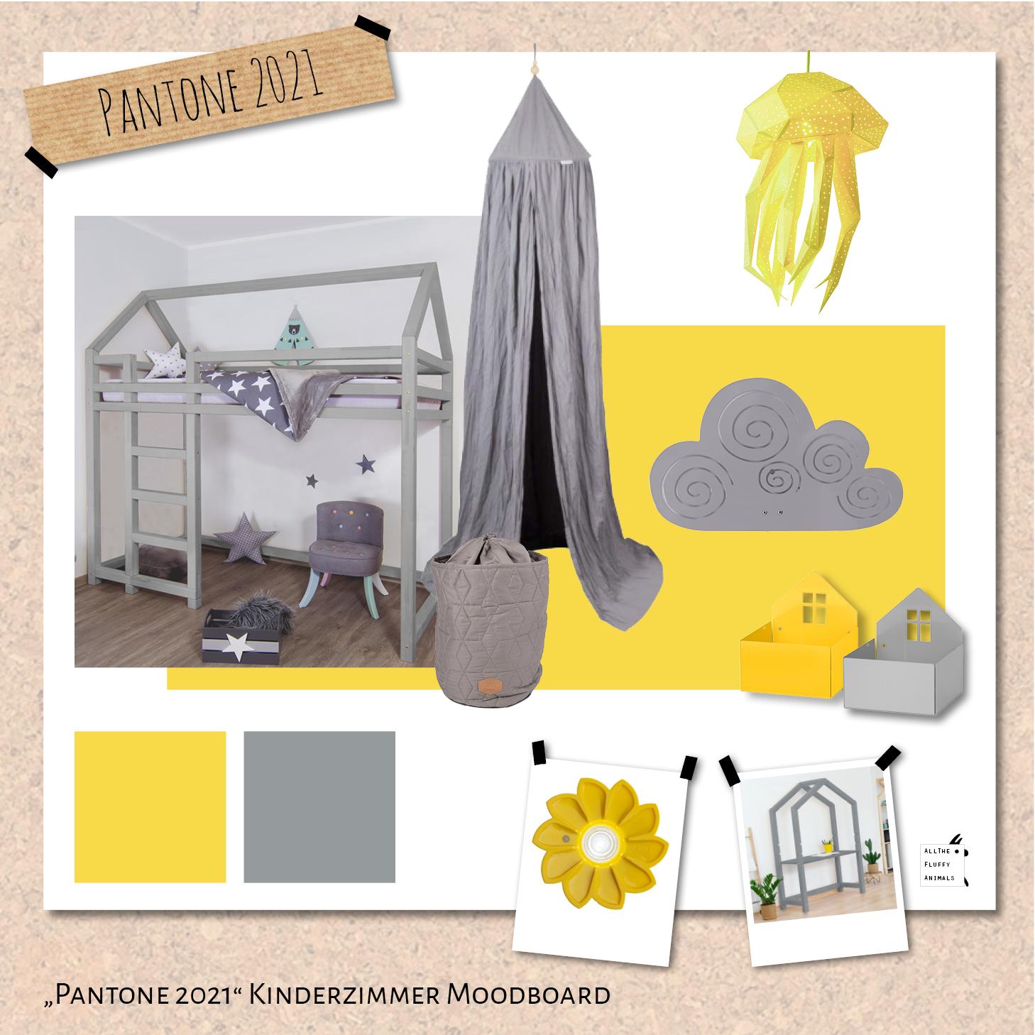 Grau-Gelb - die Pantone-Farbkombination 2021