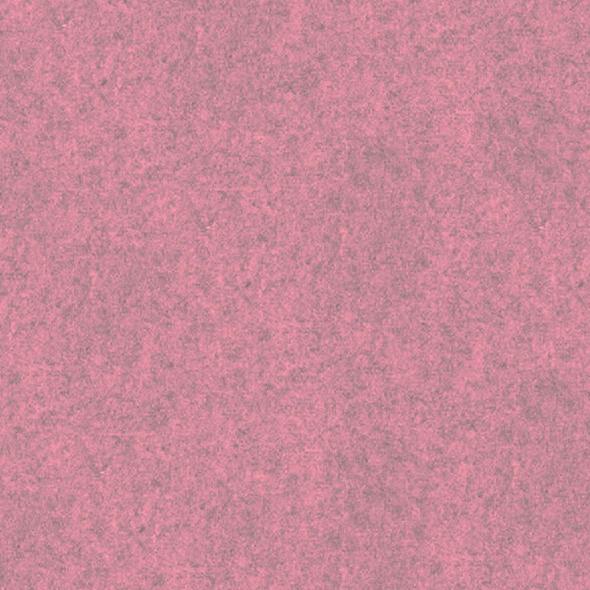 Filz-Paneel in rosa meliert