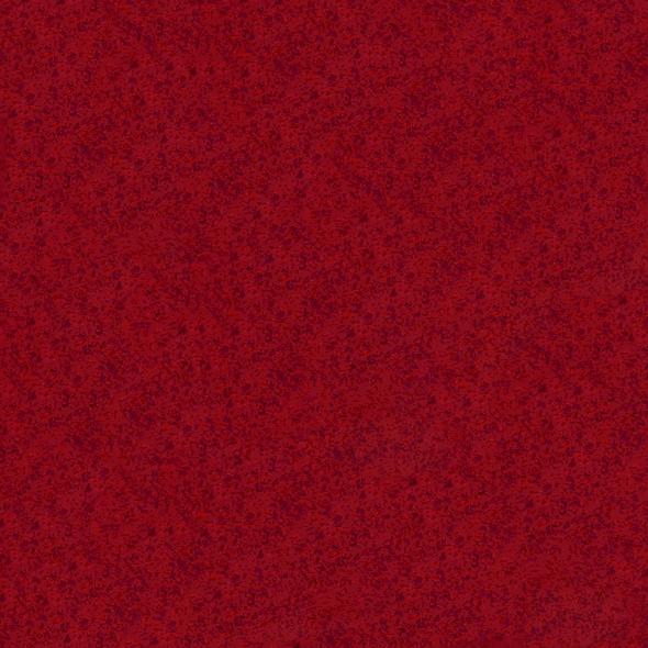 Filz-Tapete in rot meliert