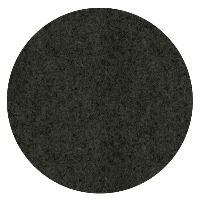 Filz-Pinnwand Dot Schwarz meliert