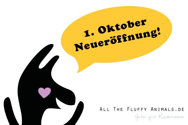 All The Fluffy Animals Neueröffnung Onlineshop