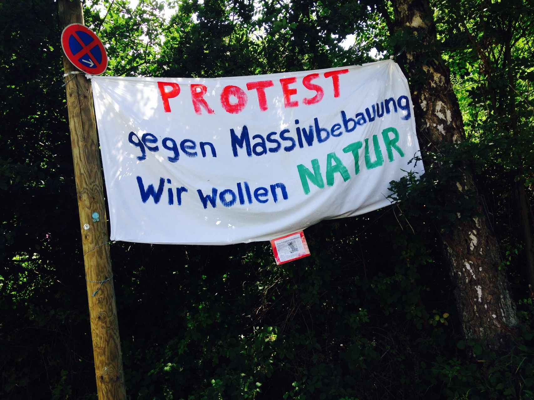Banner in Kuchhausen