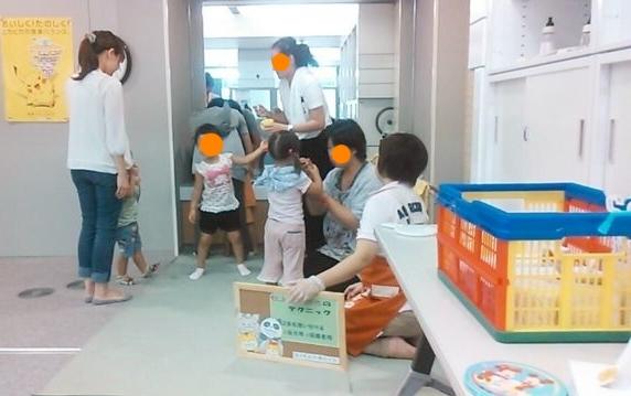 勝山市3歳児健診指導