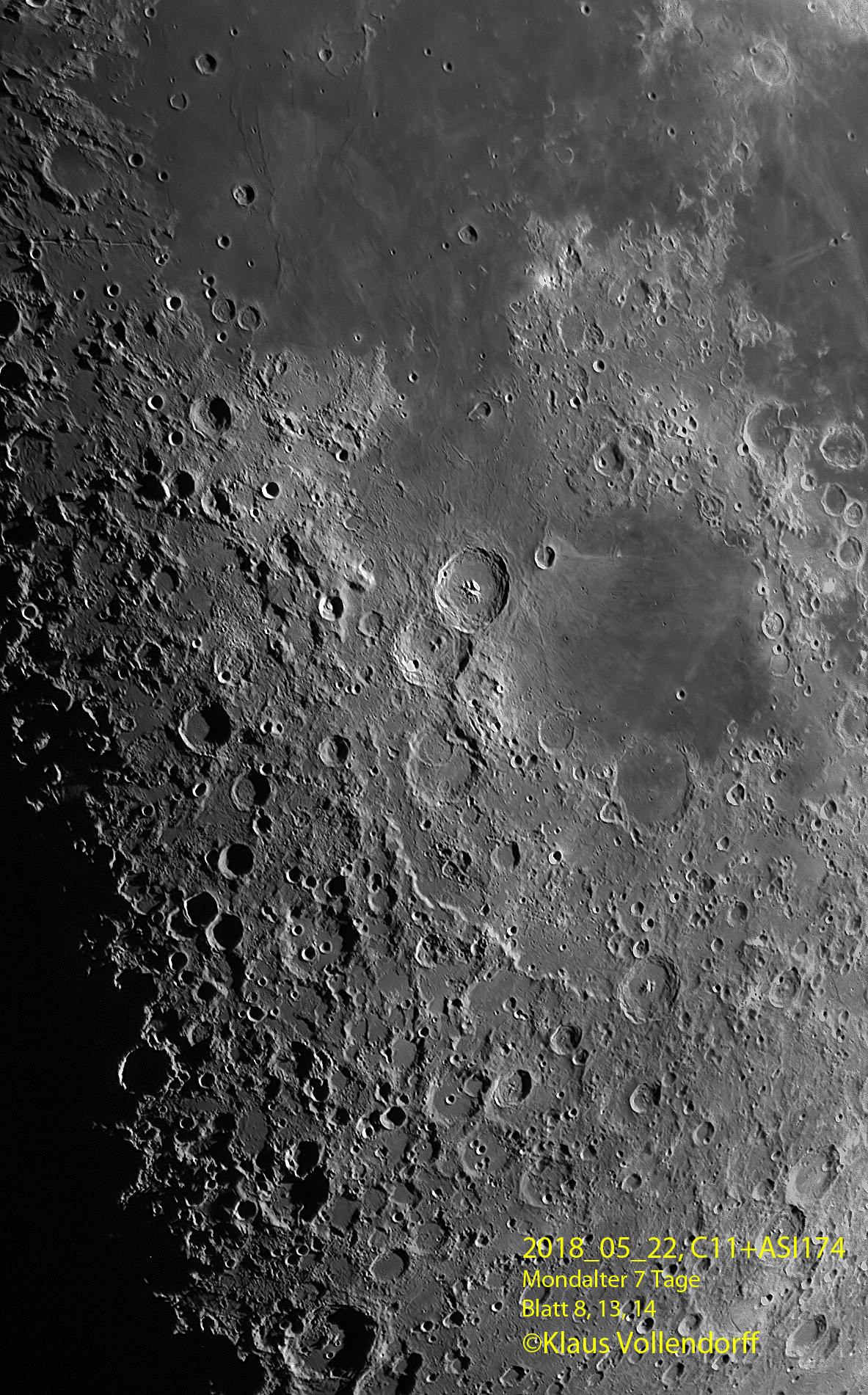 Mare Nectaris, Fracastorius, Theophilus
