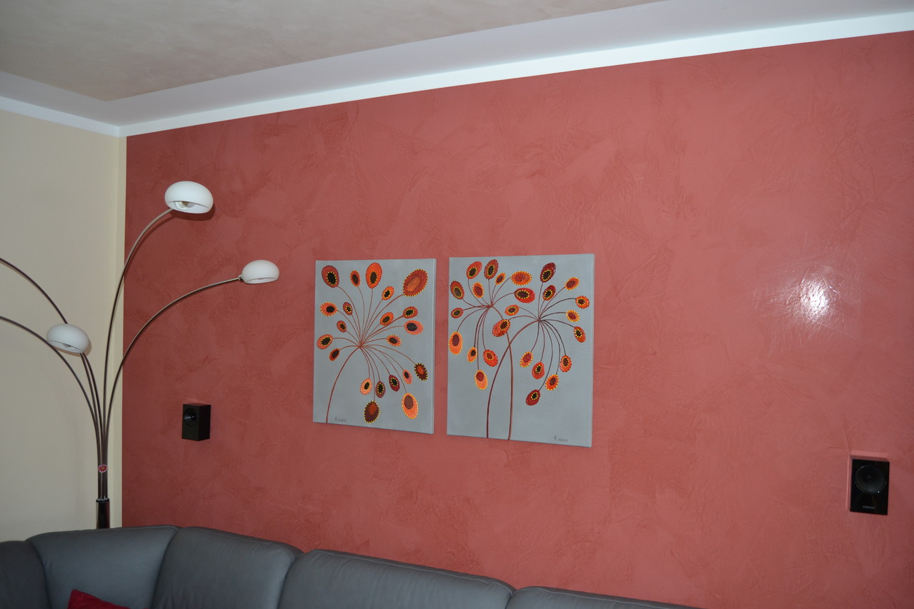 Photo: Malerei Burkhardt, Spachteltechnik Stucco DiLuce