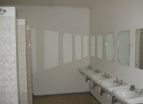 Das Badezimmer des Mädchenhostels. Foto: Solarnet International e.V.
